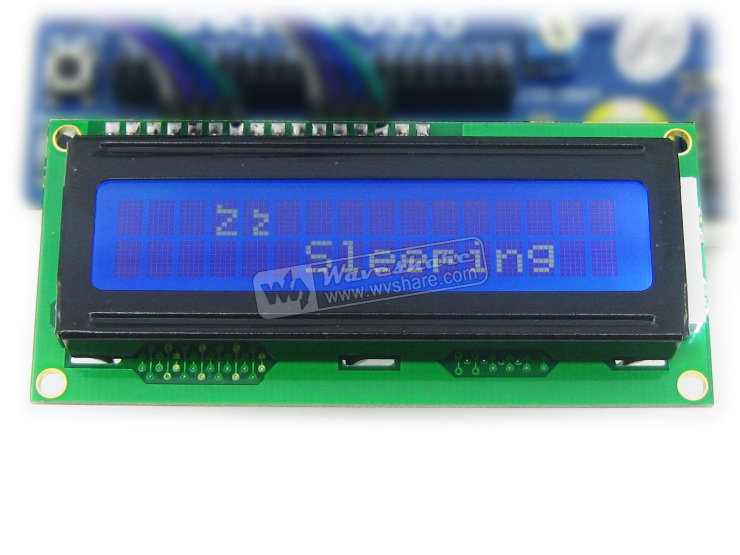 1602 16x2 Character LCD Display TN/STN Module 3.3 V Blue Backlight  with KS0066 /HD44780 Driver IC IN STOCK