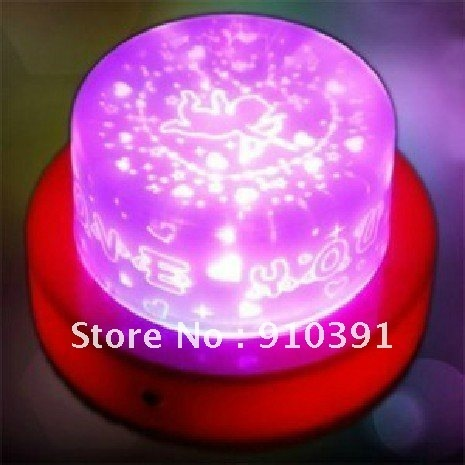 Free Shipping projection electronic candle,LED cupid light,led projection lamp,led night light,festival wedding party decoration