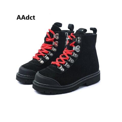 aadct 2019 moda meninas botas meninos botas de marca de alta qualidade criancas pequenas botas