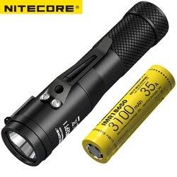 NITECORE C1 1800 lumenów CREE XHP35 HD E2 LED latarka o dużej mocy magnetyczny Tailcap latarka koncepcja 1 na kemping darmowa wysyłka