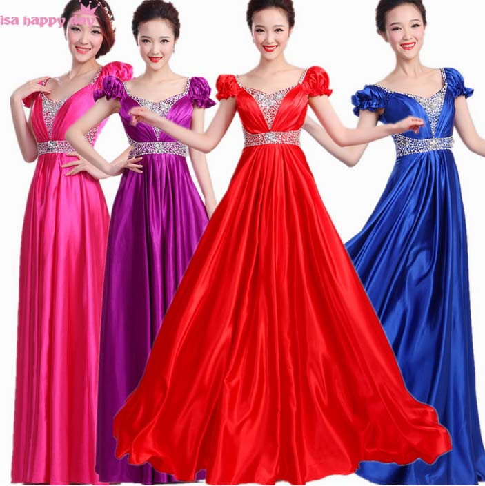 Purple Brides Maid Formal Royal Blue Satin Sister Of The Bride Dress Modern Bridesmaid Dresses For Parties Plus Size B3148