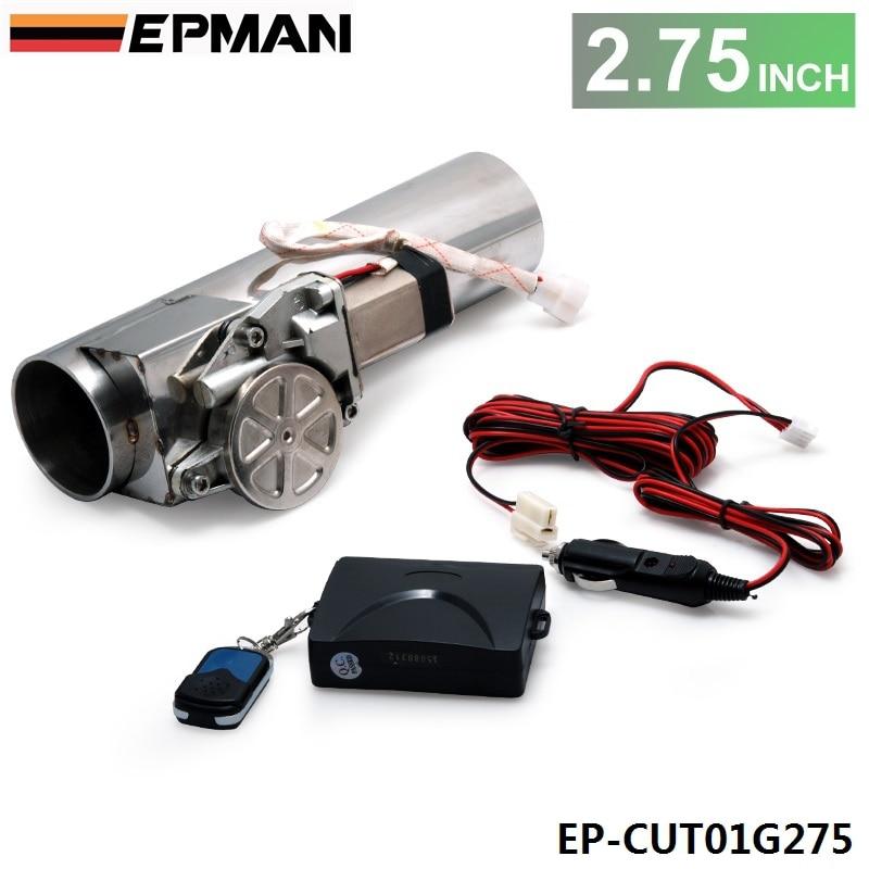 """Prix pour Autofab-2.75 """"électrique je-tuyau d'échappement descente e-cut out système de valve kit + remonte pour honda civic ek9 2/3/4dr af-cut01g275"""