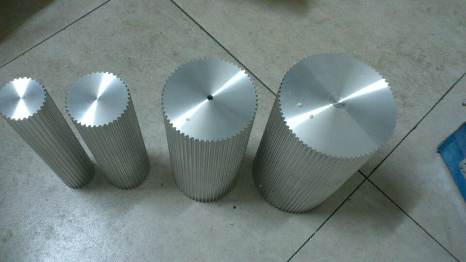 PU timing belt HTD8M. aluminum alloy pulley/ gear barPU timing belt HTD8M. aluminum alloy pulley/ gear bar