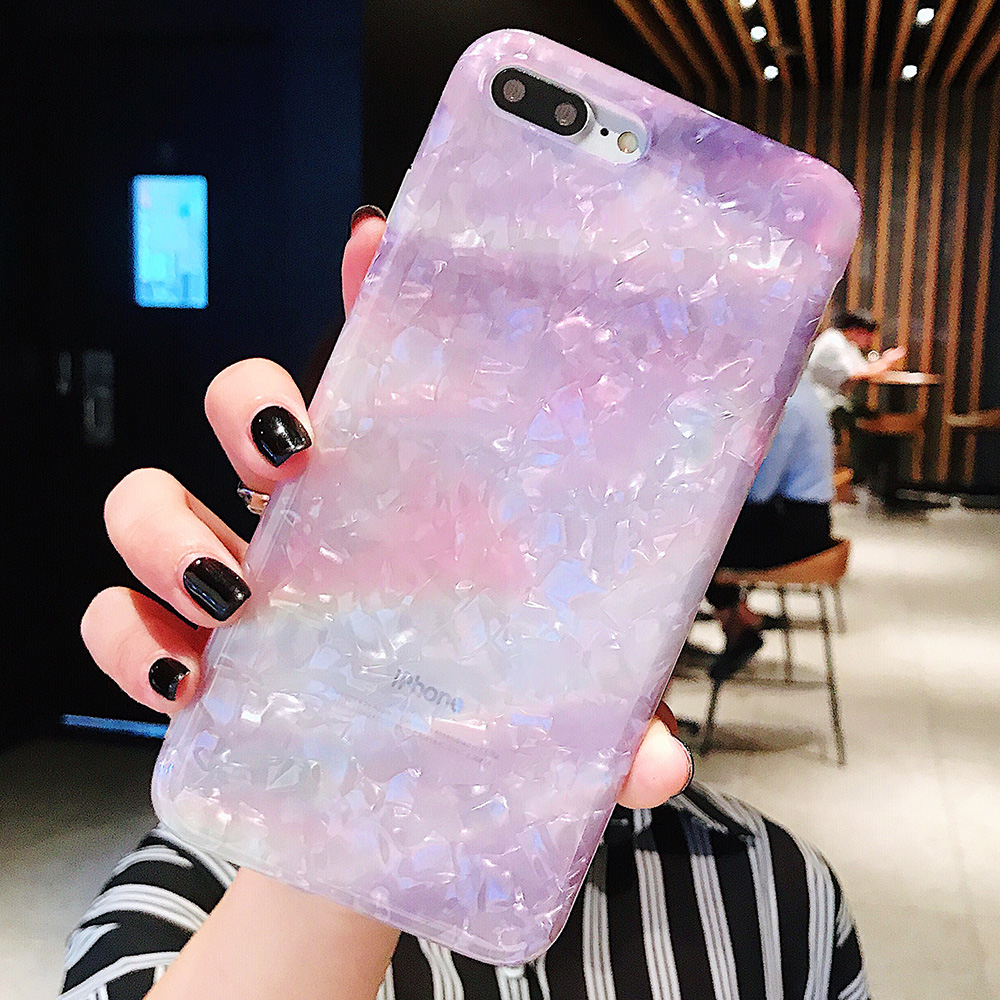 KIPX1120_2_JONSNOW Glitter Phone Case For iPhone X XR XS Max Cases Soft TPU Back Cover For iPhone 6S 6P 7 8 Plus Cover Case