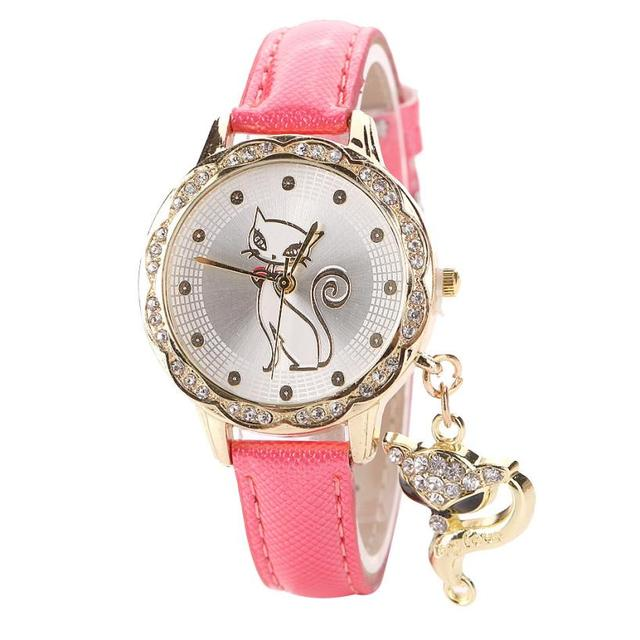 Women's Cute Cat Themed Watches