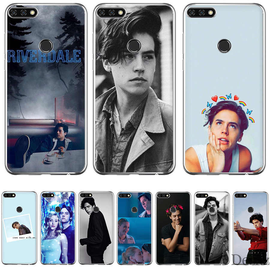 Чехол для телефона с американским ТВ ривердейлом серии Cole Sprouse для Honor Note 6a 7X 7C 7A 9 10 Lite Pro 2GB 3GB 8X чехлы