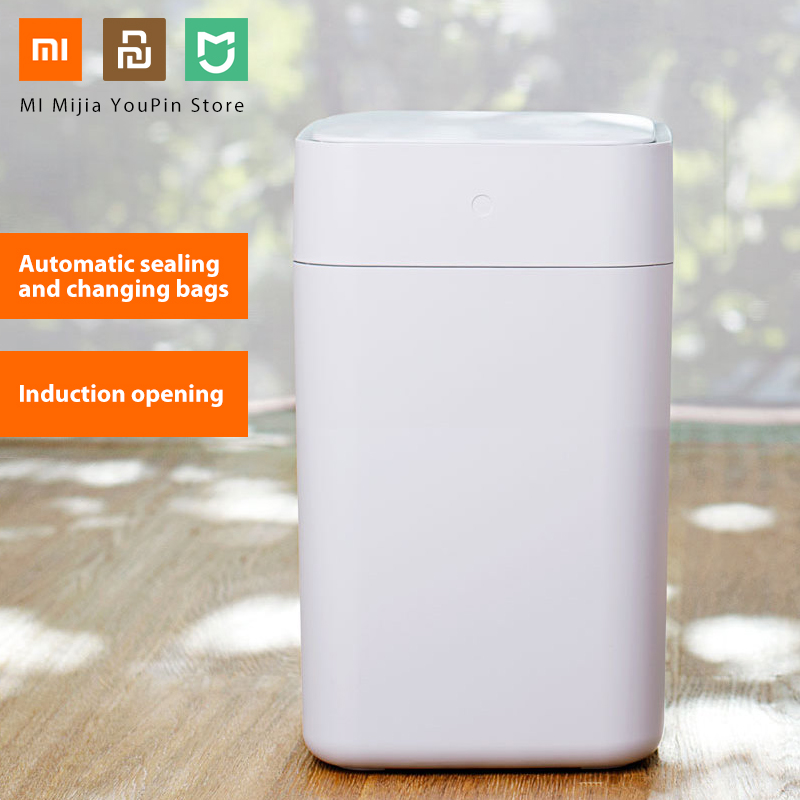 Home Appliance Parts Air Conditioning Appliance Parts Responsible Original Xiaomi Mijia Townew T1 Smart Trash Can Motion Sensor Auto Sealing Led Induction Cover Trash 15.5l Mi Home Ashcan Bins