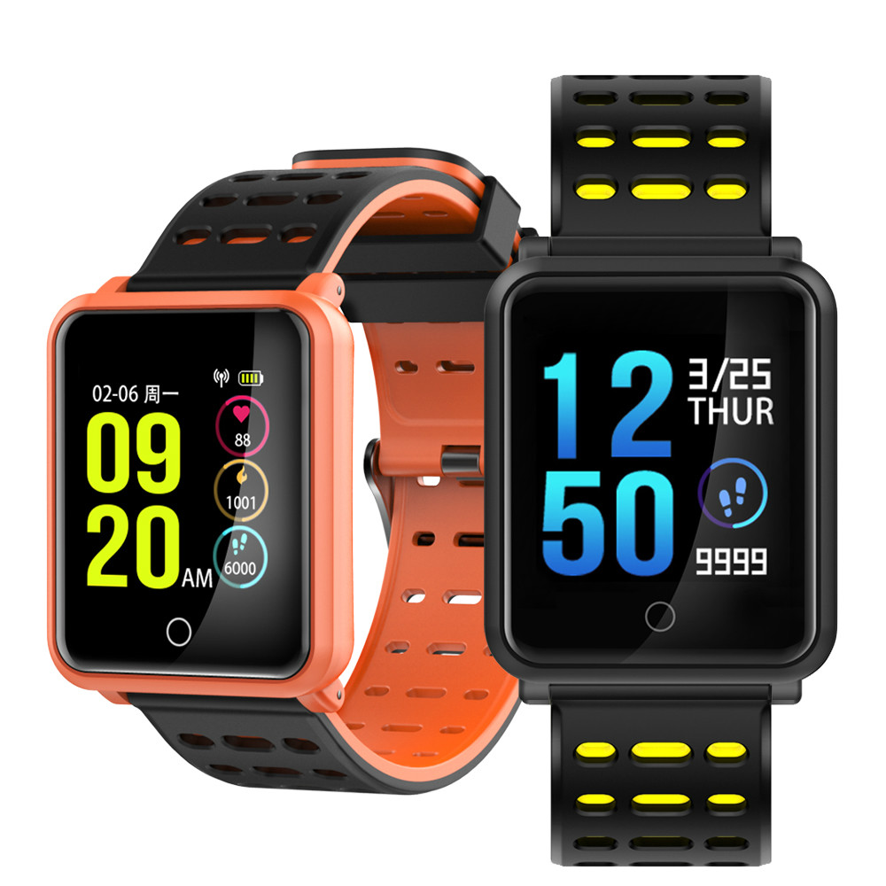 Smart Watch IOS Android Waterproof Men N88 Bracelet Women Heart Rate Blood Pressure Monitor Sport Watches Fitness Track Band