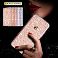 3D Diamond Crystal Clear ТПУ Case Для iPhone 6 Силиконовые Bling Блеск мягкая Обложка iPhone 6 Case Для Коке iPhone 6 6 s Plus