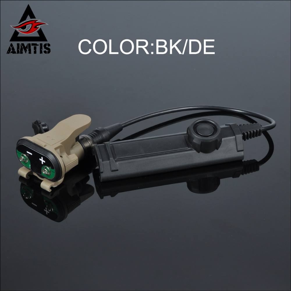 AIMTIS Remote Dual Switch Assembly for X-Series WeaponLights Constant / Momentary Control X300 X400 Tactical Torch Switch