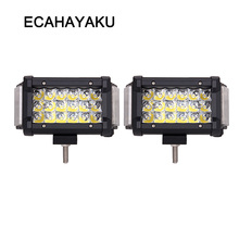 ECAHAYAKU side light 270 degree 70W off road 5.5 inch led work bar ATV SUV for jeep car accessories fog driving lights 4x4