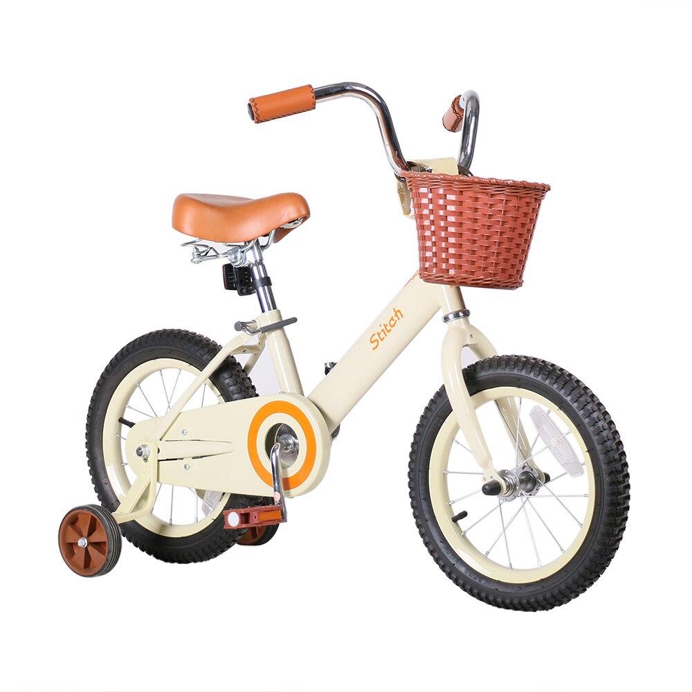 Stitch    Pink Kids Bike Forest Princess Kids Bicycles Girls Bike Foot Break BSCI