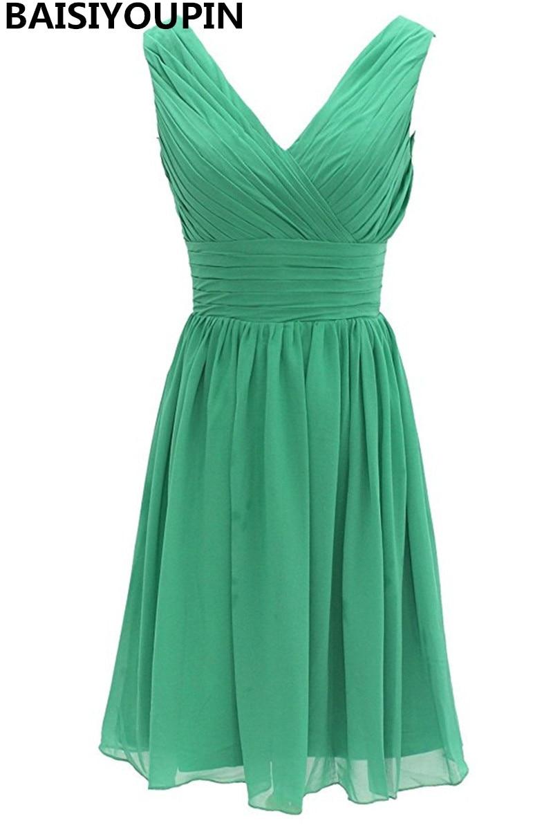 Forest Green Bridesmaid Dress