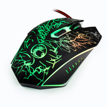 Wired Gaming Mouse for Computer 6 Button 3200 DPI LED Optical Cable Computer Opto-electronic Mouse Gamer For PC Laptop Desktop
