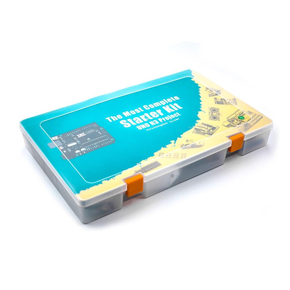 RFID kit Diy Para UNO R3 Projeto Starter Kit Completo com Vídeo Tutorial (63 Itens) E Programação