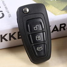 3 Button Remote Key 433MHZ 4D63 Chip Fit For Ford Mondeo Transit Connect Focus Mk1