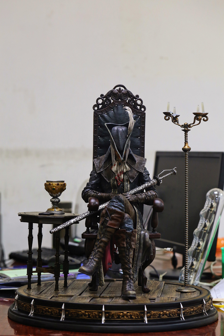 цена на New Recast 1/4 Scale Bloodborne P1S MARIA Resin Statue Game Bloodborne Collection Model Toy