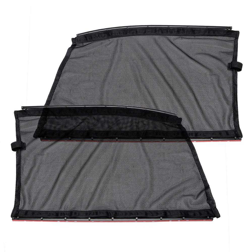 Car interior curtains - Uv Protection Black Interior Accessories Auto Styling Car Curtains Car Sun Shade 2pcs For Front Side