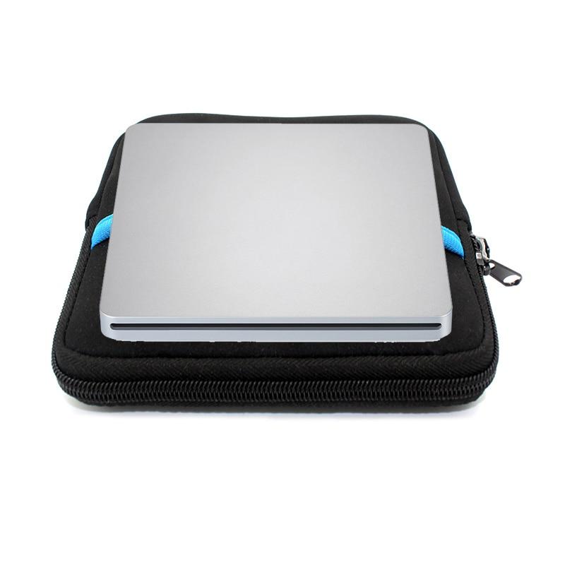 External Blu-ray Optical Drive CD/DVD/BD-RE Burner Player Recorder Portable for Apple Macbook iMac Lapto+Driver bag cheerlink ecd008 slim portable usb 3 0 external optical dvd cd rom drive case white black