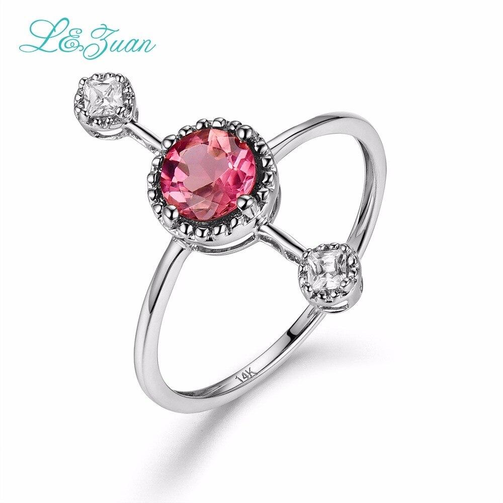 L & Zuan Diamond Бижута 14K Розово злато - Изящни бижута - Снимка 3
