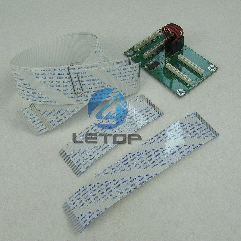 Testina di stampa Convertire Bordo per DX5 per TX800 XP600 DX10 Testina di Stampa di Trasferimento di Chip CardTestina di stampa Convertire Bordo per DX5 per TX800 XP600 DX10 Testina di Stampa di Trasferimento di Chip Card