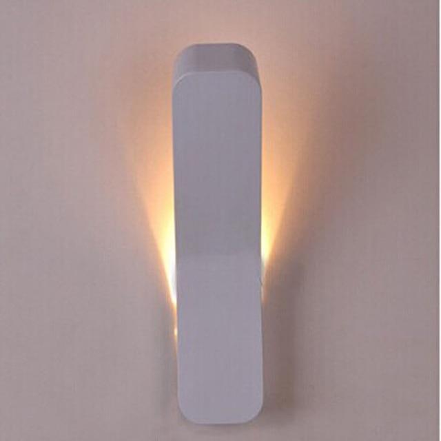 Moderne led wandlamp Blaker Verlichting Wandmontage Bed Leeslamp ...