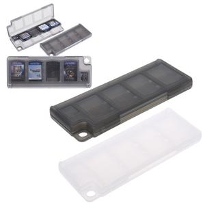 Memory-Card-Holder Storage-Case Portable Game Black for 10-In-1