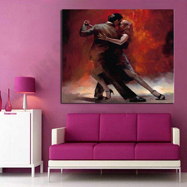 Online Shop Modern Abstract Figure Art Spanish Flamenco Dancer A ...