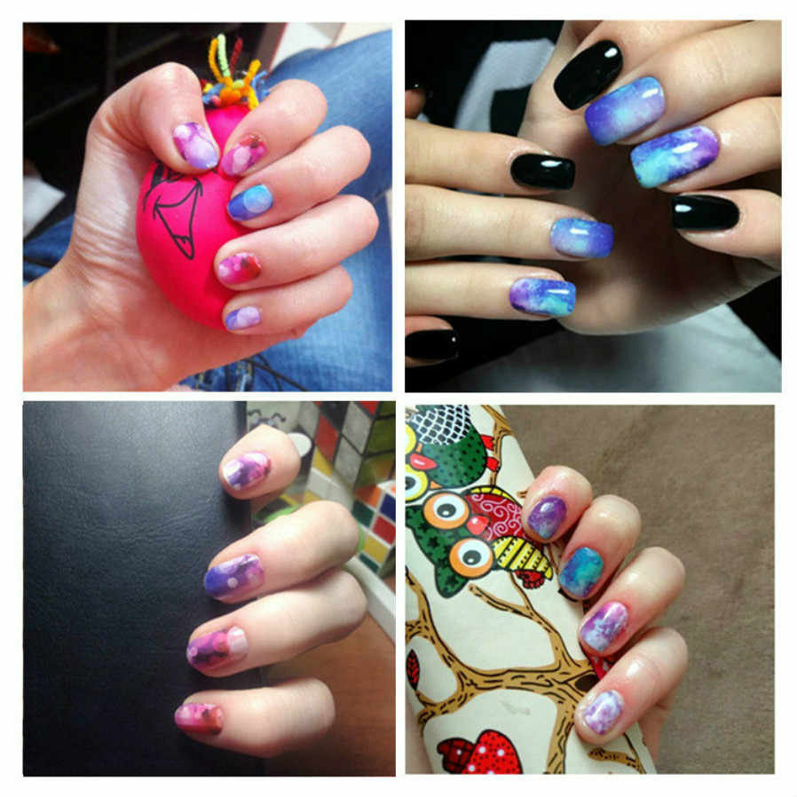 2019 HOT Mixed Design New Nail Art Sticker Set Magic Flower Water Transfer Water Decal Slider Wraps Decor Manicure