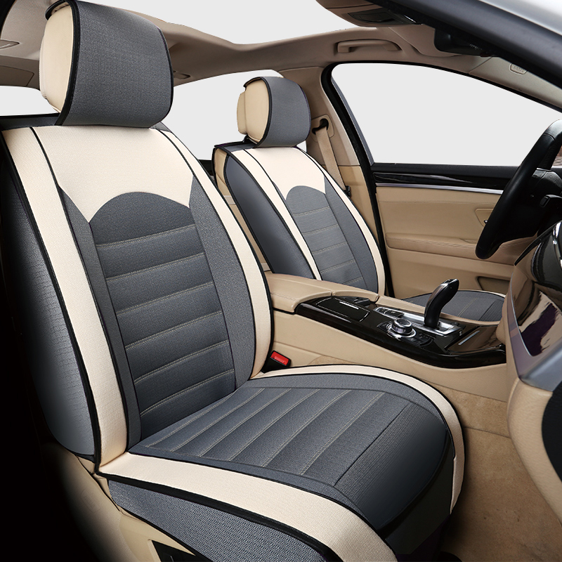 buy car travel linen car seat cover set for volkswagen beetle leather seat. Black Bedroom Furniture Sets. Home Design Ideas
