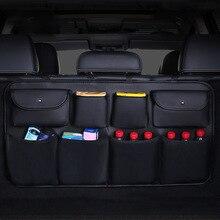Многофункциональная 8 карманов Автомобильная задняя спинка сиденья грязевая водонепроницаемая сумка для хранения CarTrunk мульти карманная для напитков еда umbrellaTravel Органайзер