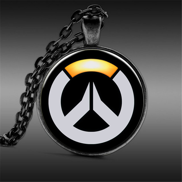 Hot Sale Game Overwatch Necklace Tracer Reaper Ow Pendant