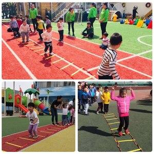 Image 5 - Aide pédagogique préscolaire, jouet de sport, marelle, sauter à la grille, entraînement dintégration sensorielle, plein air, amusant, jeu, cercle