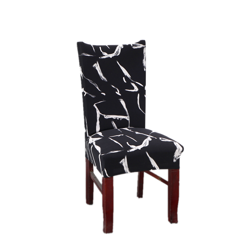 Deamworld Chair Covers Spandex Stretch Covers for Kitchen Chairs Universal Chair Cover with Back for Wedding Computer Decoration ...