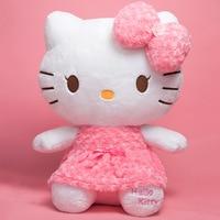 Hello Kitty anime plush doll Plush good lucky cat kawaii Hello Kitty doll child gift soft toys girlfriend surprise gift 29cm