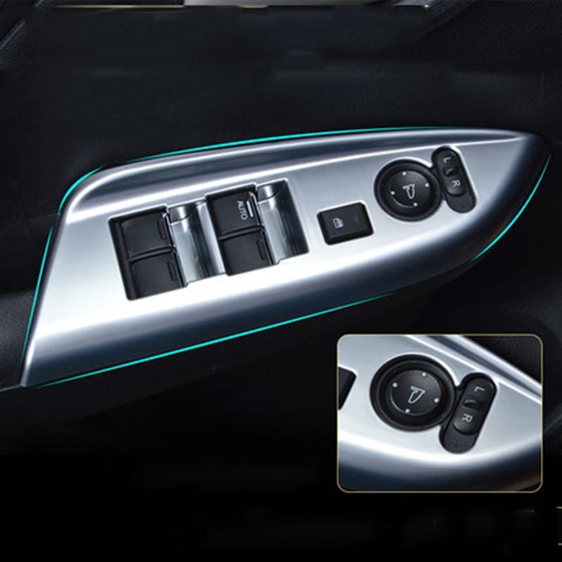Fits Nissan QASHQAI 2014 2015 2016 Interior Window Switch Console Panel Trim RHD