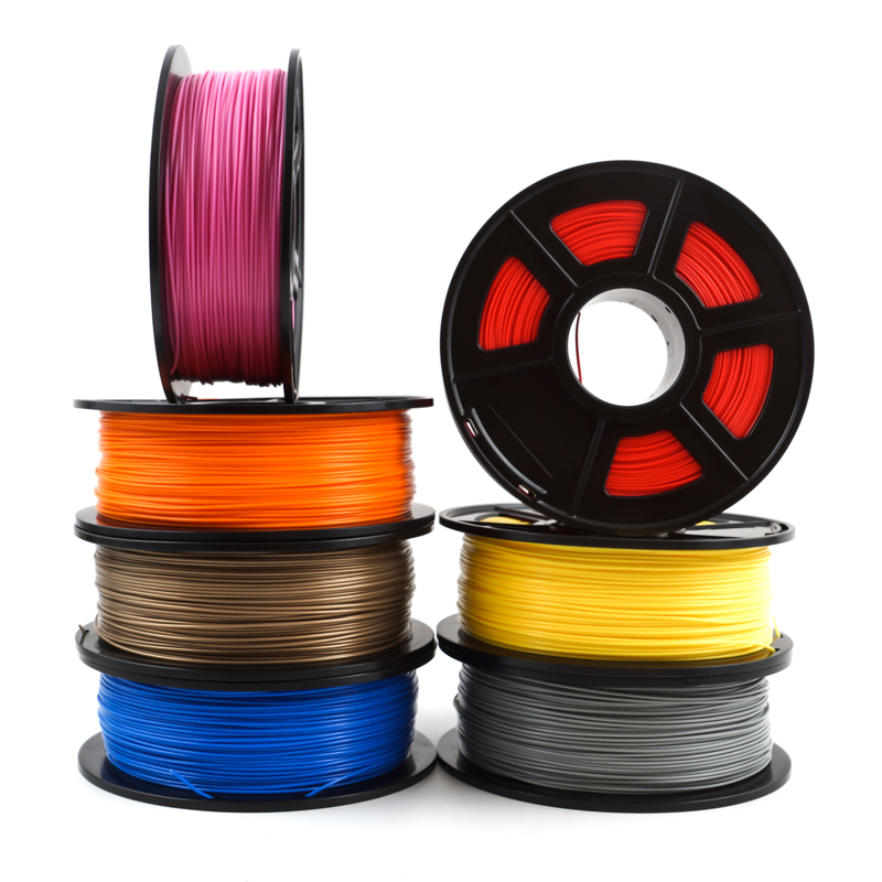 SunDcreate Top Quality Brand 3D Printer Filament 1.75 1KG PLA ABS Carbon Fiber TPU PETG WOOD Metal Plastic Filament Materials