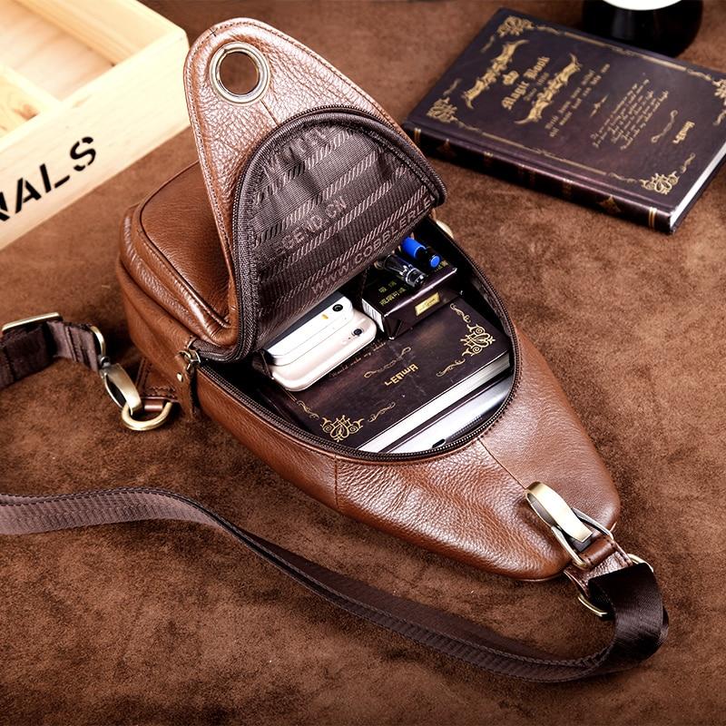 Cobbler Legend 2019 Brand Dizajner Muška Messenger Bag Jedna torba - Torbe - Foto 2