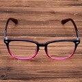 Excelentes Homens E Mulheres Da Moda Óculos de Armação Miopia Vidros Ópticos Armações de Óculos Do Vintage Grande Armação dos Óculos de Lente Clara