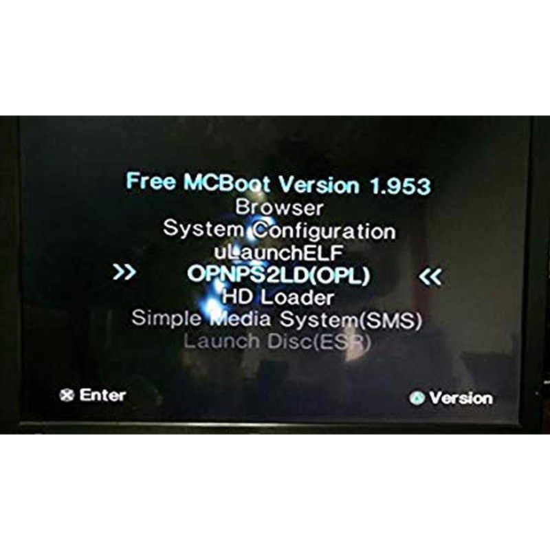 Бесплатно McBoot FMCB 1,953 для sony Playstation 2 PS2 8 MB/16 MB/32 MB/64 MB карты памяти OPL MC Boot