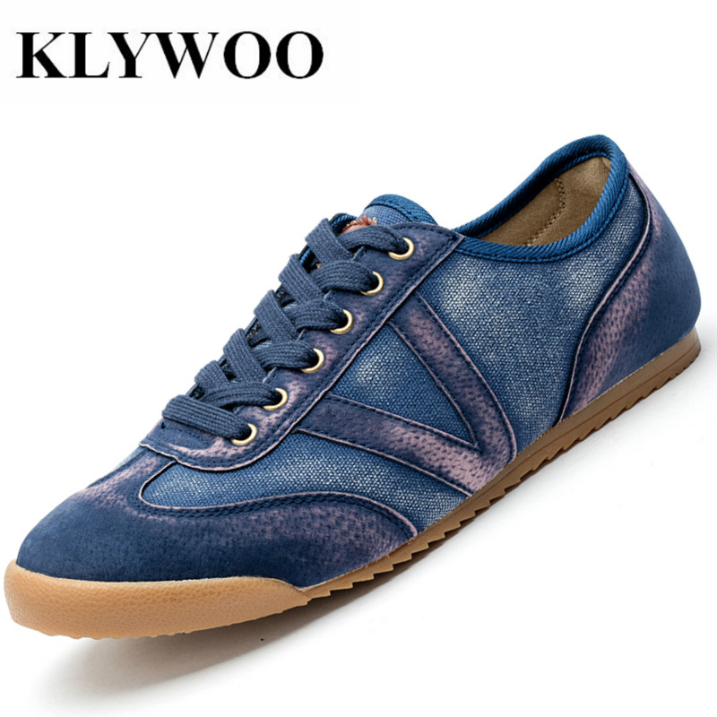 KLYWOO Canvas Shoes Men Breathable Casual Shoes Men Shoes Soft Comfortable Sneakers for Men Lazy Shoes Male Chaussure Homme