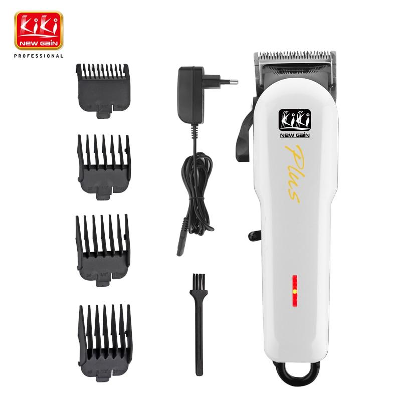 KIKI 2017 new design Mini rechargeable Professional Hair cutter Hair Trimmer 2000mAh Lithium battery 100-240V NG-666 Plus 3 6v 2400mah rechargeable battery pack for psp 3000 2000