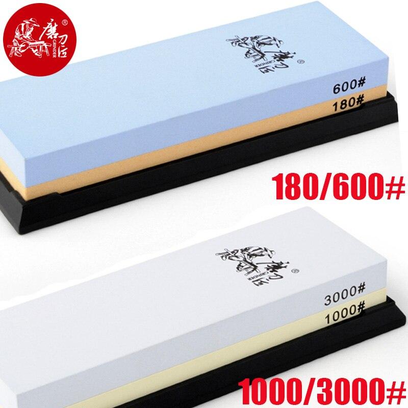 Taidea 180/600 1000/3000 2000/5000 grit afiador de faca cozinha afiar sistema de pedra amolar ângulo guia para faca pedra
