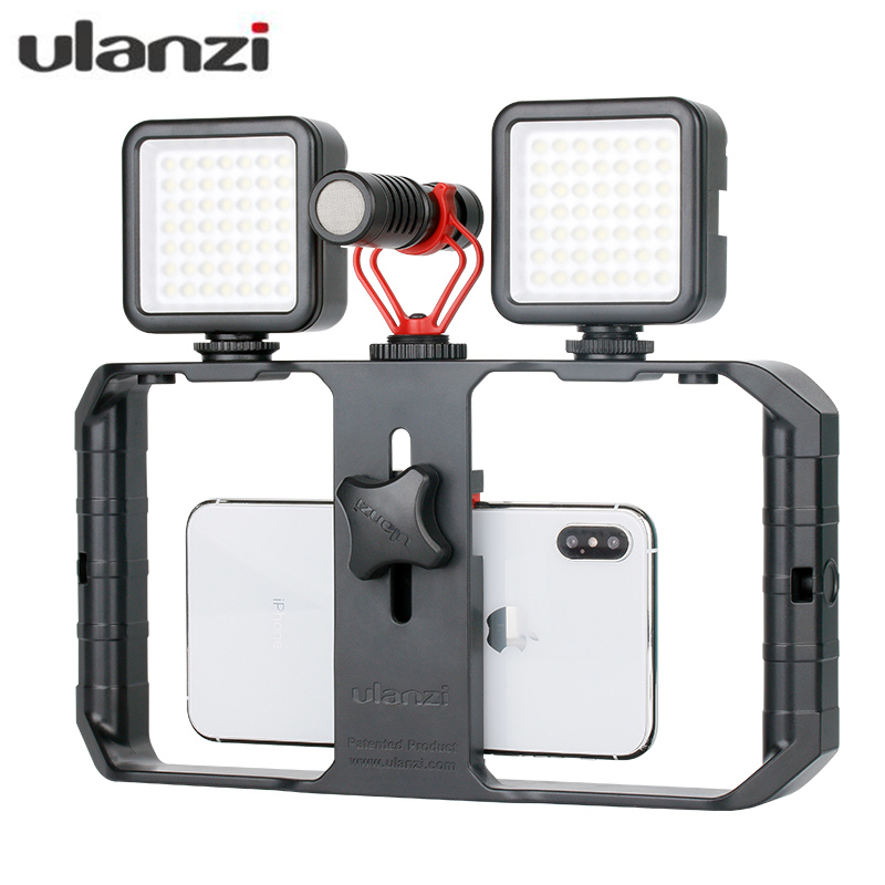 Reasonable Ulanzi U-rig Pro Smartphone Video Rig Mobile Vlogging Filmmaking Stabilizer With 1/4 Screw Cold Shoe Mount For Iphone Xiaomi