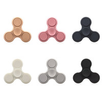 High Quality Matte Color Hand Fingers Fidget Spinner Toy Top Figit Spinner Hand Toys EDC Stress