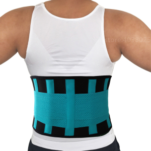 Image 4 - Medical Back Brace Waist Belt Spine Support Men Women Belts Breathable Lumbar Corset Orthopedic Device Back Brace &Supports