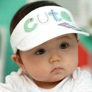 Summer Style Toddler Kids Baby Boys Girls Empty Top Cap Cute Fashion Embroidery Sun Hat 5 Pcs/lot mix фото