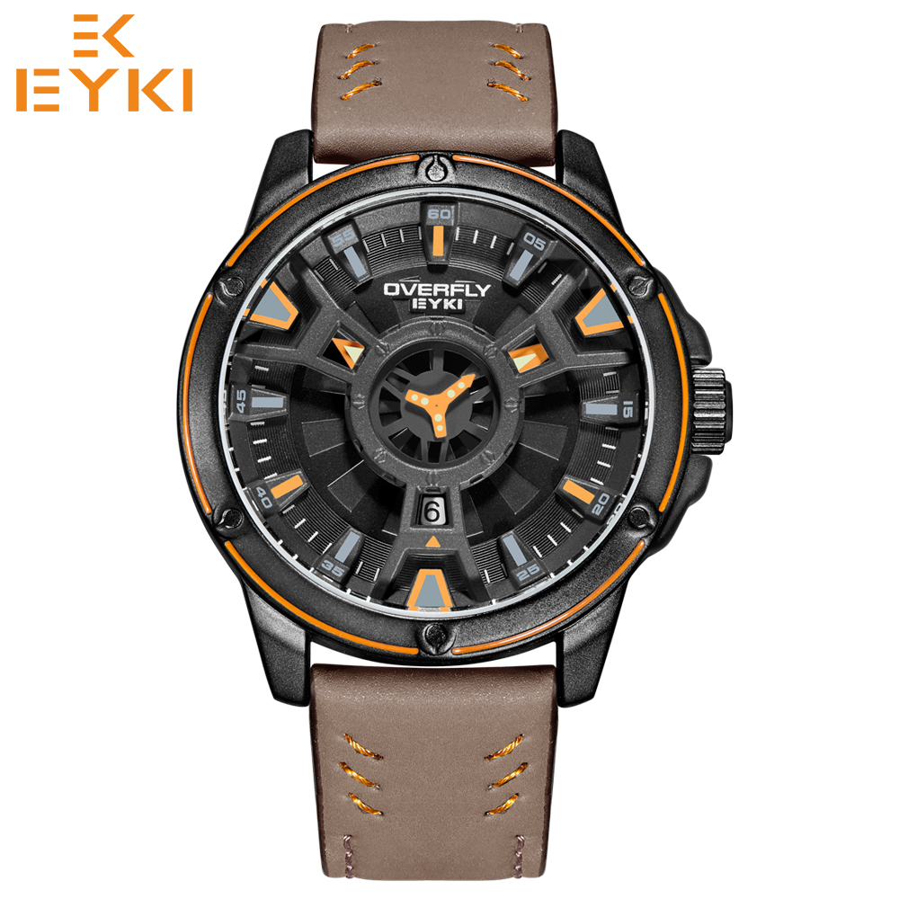EYKI 2018 Men Military Waterproof Sport Watches Man Luxury Army Quartz Wristwatches Doulbe Dial Relogio Masculino Reloj Hombre цена 2017