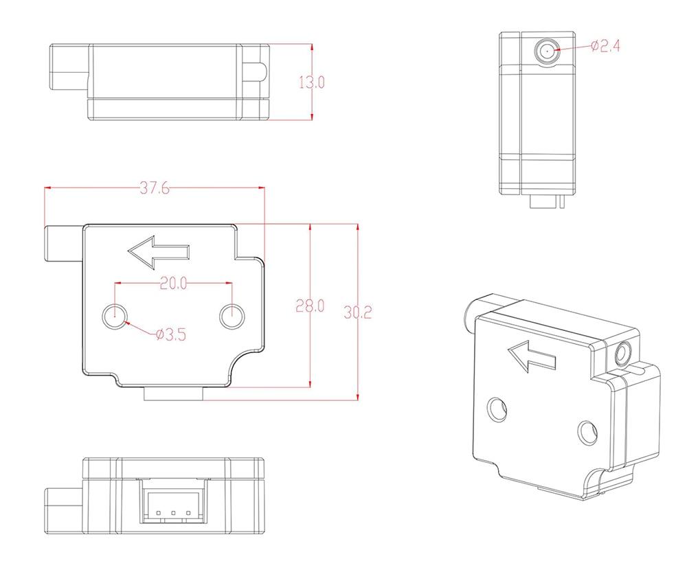 Material detection module4