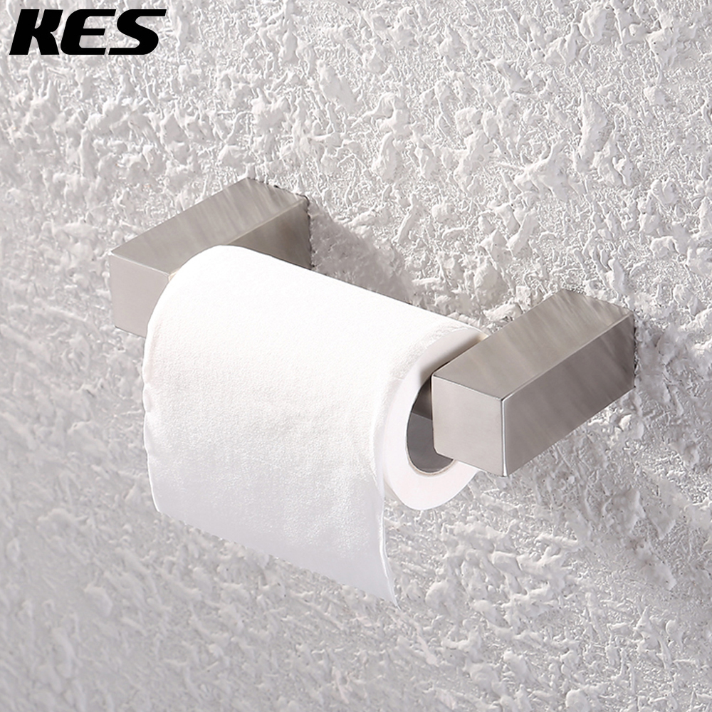 kes sus 304 stainless steel toilet paper holder storage bathroom kitchen paper towel dispenser tissue roll hanger bph209 2 - Commercial Bathroom Paper Towel Dispenser